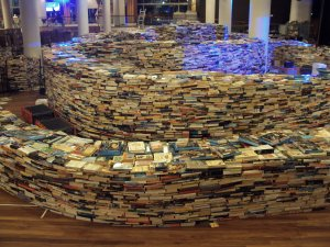 The Book Maze, Royal Festival Hall, London, 29th July, 2012