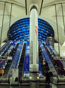 Canary Wharf Tube Station Way Out