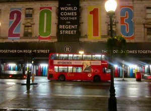 The World Comes Together on Regent Street 2013...