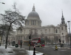 St. Paul's Cathedral, as seen from the east...