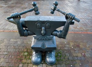 Anvil Man, by Peter Lunn
