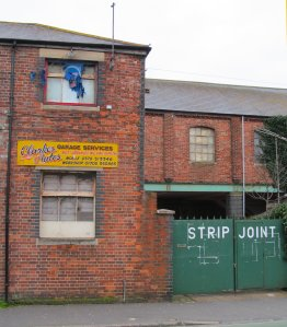 Business in Goldsmith Avenue, Fratton, Portsmouth...but the Strip Joint is all about paint stripping ;)