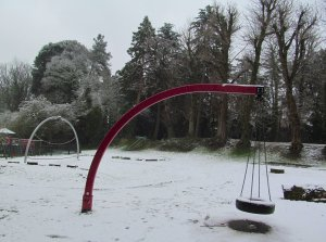 A children's plaything, Swan Lane Open Space
