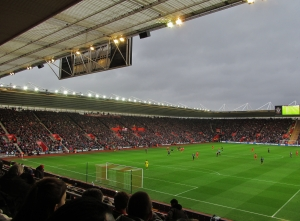 St Mary's football ground...home of Southampton F.C....