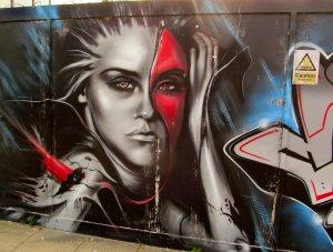 Graffiti, Portsmouth City Centre...