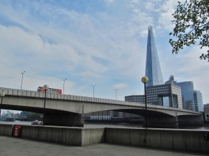 London Bridge viewed from upstream...