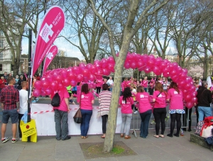 Another charity that garners a lot of support on London Marathon day...