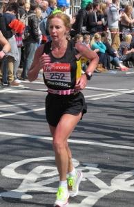 Runner number 252...