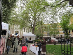 Cabbages and Frocks Market, every Saturday, 11.00 am to 5.00 pm, Marylebone Parish Church Gardens