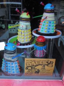 Build Your Own Dalek, shop window, Eastney, Portsmouth