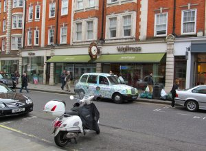 Waitrose, in Marylebone High Street...