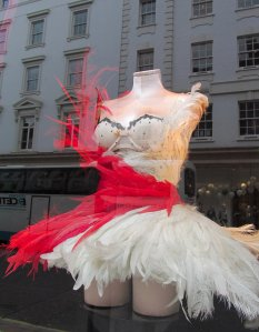 Victoria's Secret shop window, New Bond Street