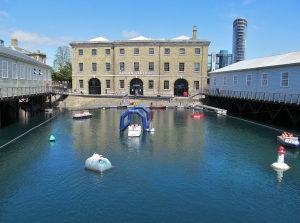 Action Stations, in Portsmouth Dockyard