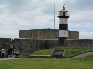 Southsea Castle and the Lighthouse