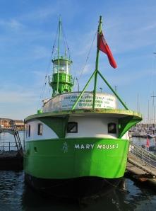 HMS Haslar, in Haslar Marina