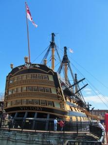 HMS Victory, aft...