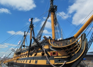 HMS Victory, fore...