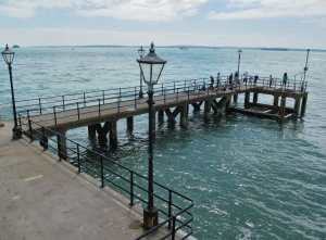 A jetty further along the seafront