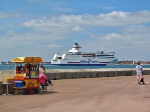 Further along Southsea seafront
