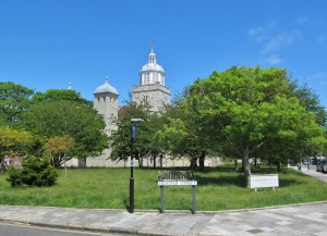Portsmouth Cathedral, from Oyster Street