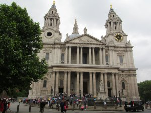 St. Paul's Cathedral, from the top of Ludgate Hill