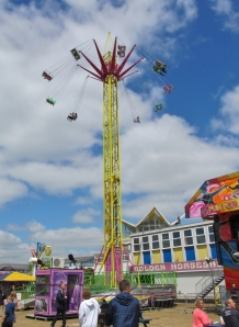 Swing Tower at the funfair