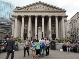 The Royal Exchange, Cornhill, City of London