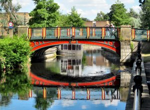 Town Bridge, Thetford, built in 1829...
