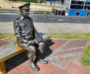 Captain Mainwaring, looking thoughtful ;)