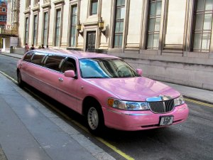 Pink Limousine, Wild Street, London, WC2