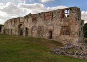 Another part of the Priory ruins...