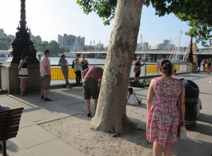 The said Susana, in her South Bank context...