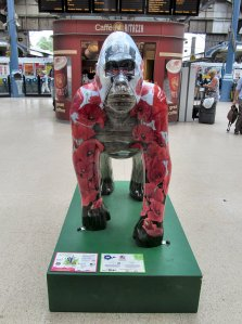 The first of many Gorillas I encountered in Norwich during the next few days...