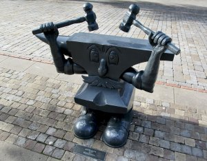 'Anvil Man' by Stephen Lunn