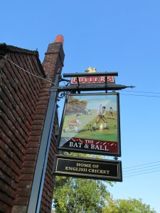 And the pub sign...