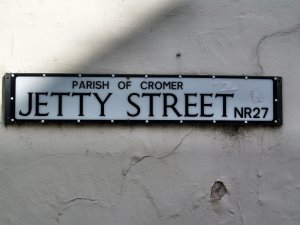 Jetty Street sign...