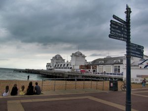 Southsea's splendid South Parade Pier...