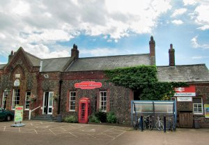 The Station Bistro at Wymondham railway station...