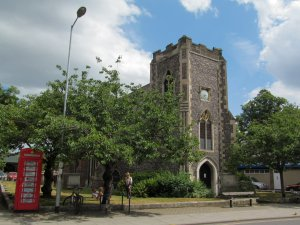St Saviour church, in Magdalene Street...