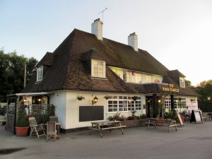 The King Charles pub, in Kings Worthy