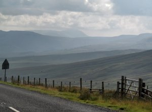 On the road from Muker to Hawes...