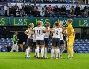 England pre-match bonding...
