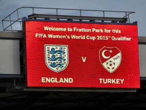 England v Turkey
