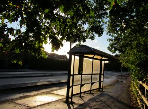 ONS bus stop, Segensworth Road West, Titchfield