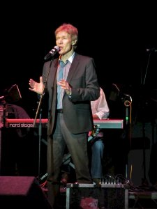 Paul Jones, lead singer and bluesy harmonica player...