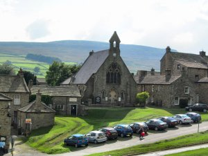 The town of Reeth in Swaledale...