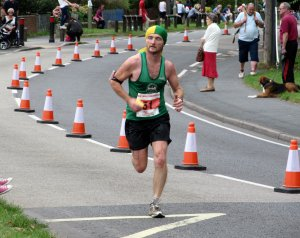 Looks in pretty good nick considering he's just run 26 miles... ;)