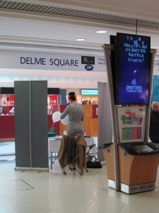 Another stall, in Delme Square, Fareham Shopping Centre...