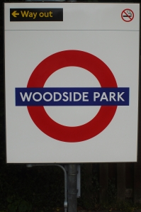 Woodside Park Tube Station, North Finchley, London N12