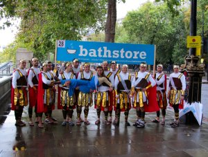 The Bathstore, awaiting their return to the City